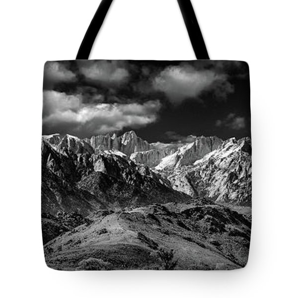 The Majestic Sierras Tote Bag
