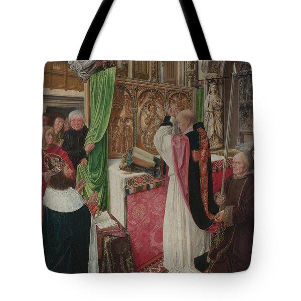 The Mass Of Saint Giles Tote Bag