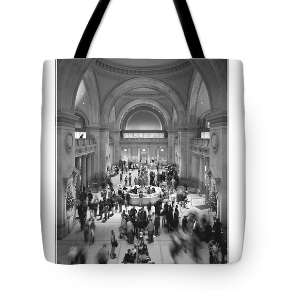 The Metropolitan Museum Of Art Tote Bag by Mike McGlothlen