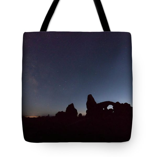 Tote Bag featuring the photograph The Milky Way by Jim Thompson