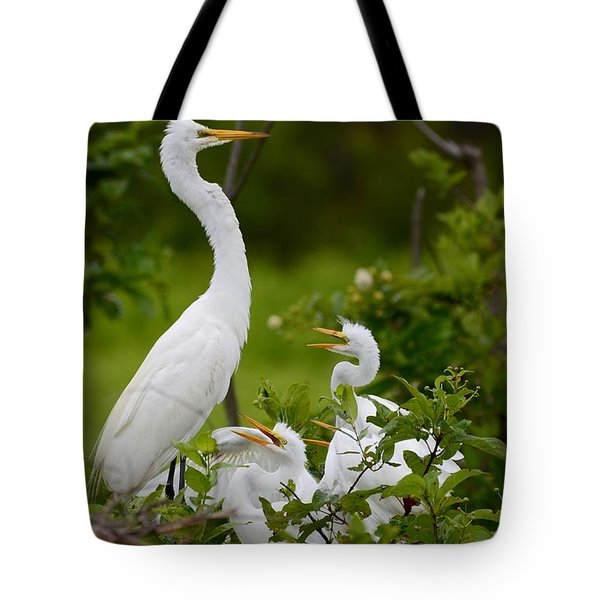 Tote Bag featuring the photograph The Nest  by Kathy Gibbons