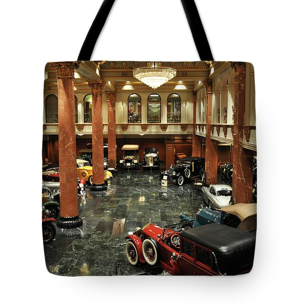 Tote Bag featuring the photograph Grand Salon At The Nethercutt by Kyle Hanson