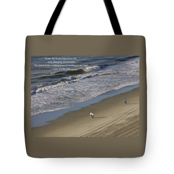 The Ocean Tote Bag by Rhonda McDougall
