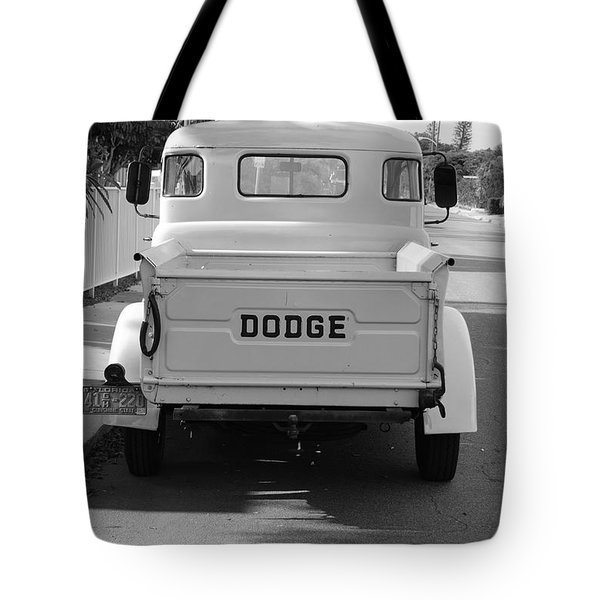 The Old Dodge  Tote Bag by Rob Hans