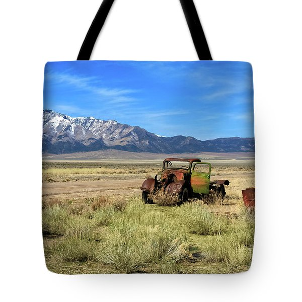 Tote Bag featuring the photograph The Old One by Robert Bales