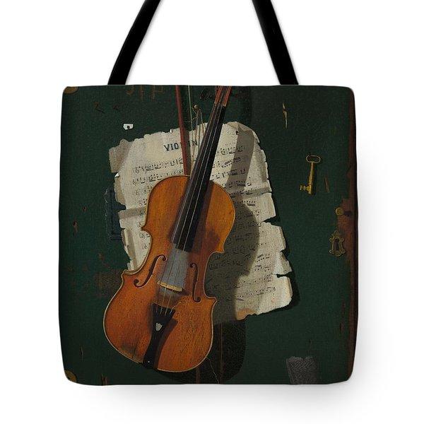 The Old Violin Tote Bag