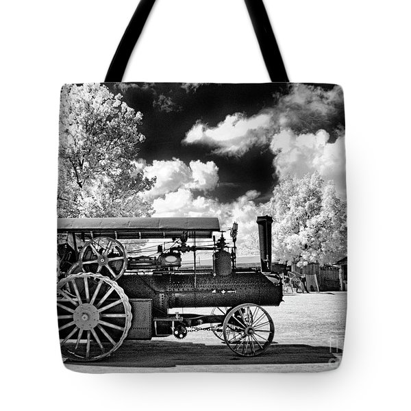 Tote Bag featuring the photograph The Old Way Of Farming by Paul W Faust - Impressions of Light
