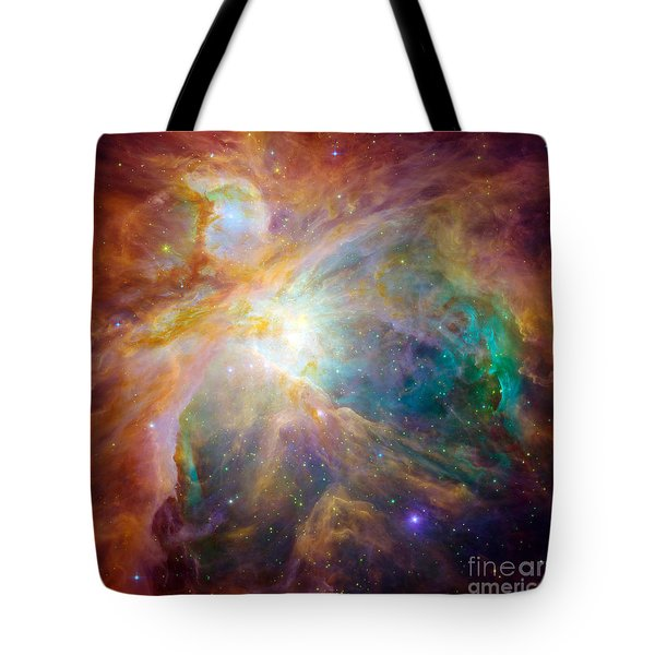 The Orion Nebula Tote Bag by Stocktrek Images