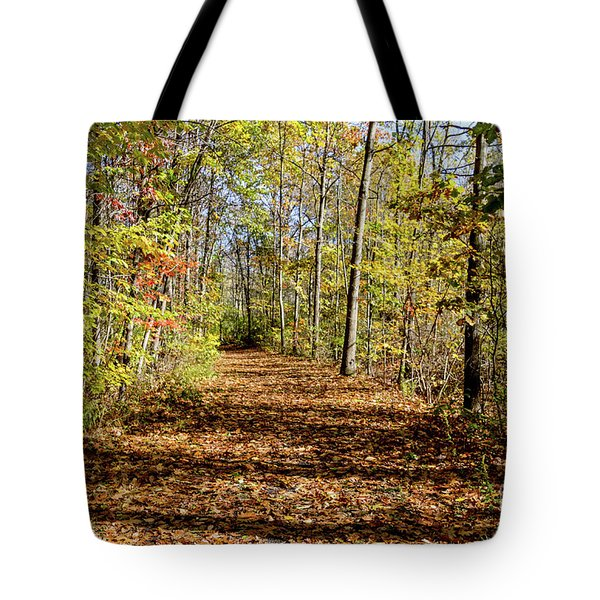 The Outlet Trail Tote Bag by William Norton