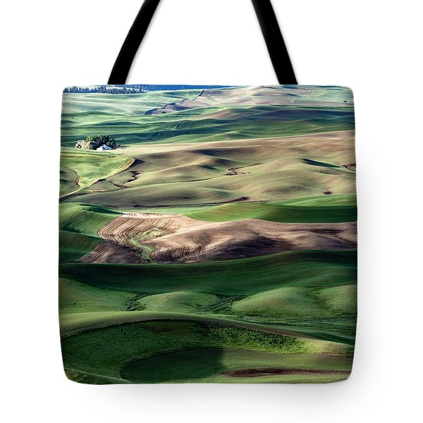 Tote Bag featuring the photograph The Palouse by Joe Paul