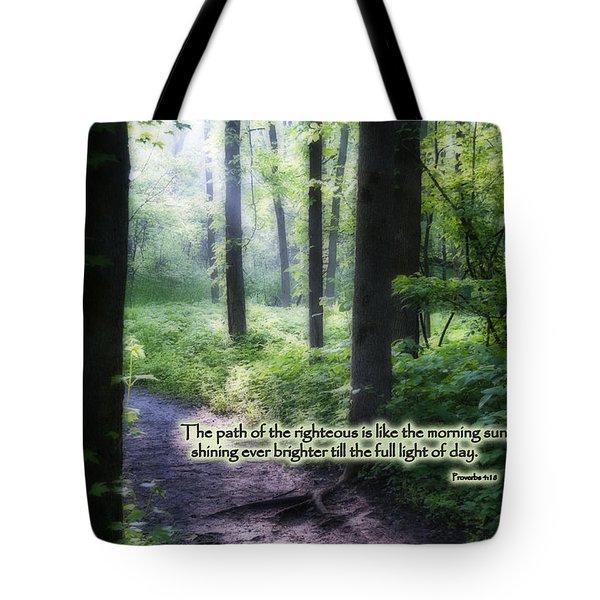 The Path Tote Bag