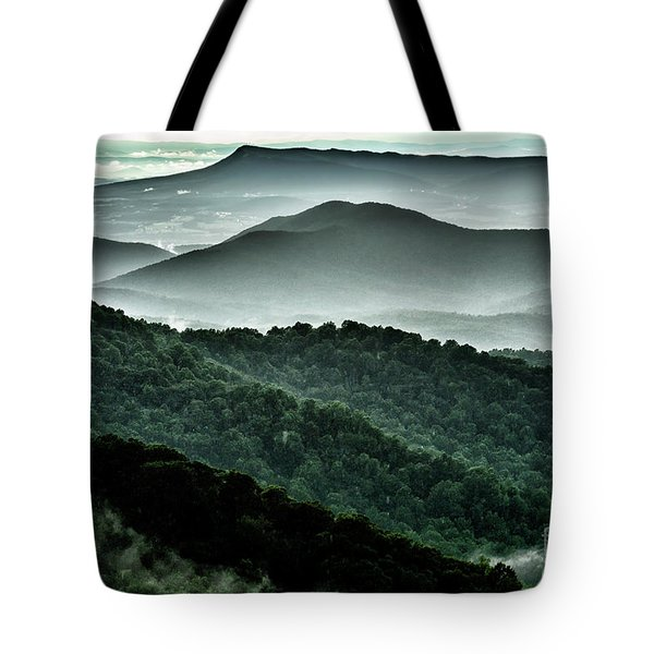 The Point Overlook Tote Bag by Thomas R Fletcher