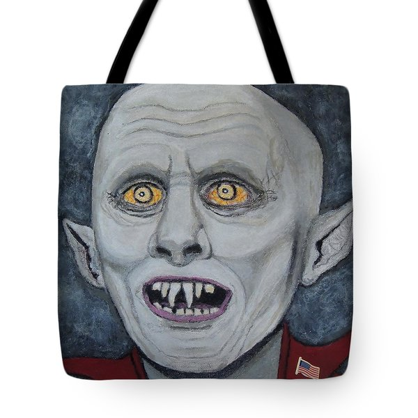 The Politician. Tote Bag by Ken Zabel