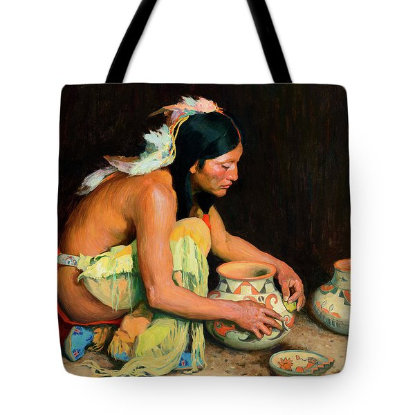 The Pottery Maker Tote Bag