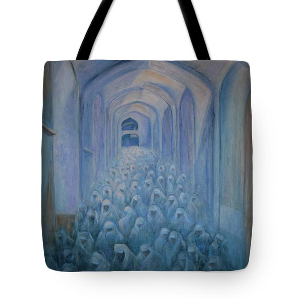 The Prayers... Tote Bag by Xueling Zou