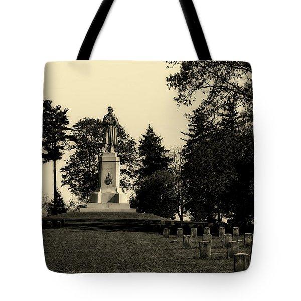 The Private Soldier Monument - Antietam Tote Bag
