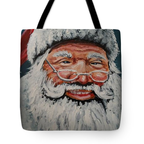 The Real Santa Tote Bag