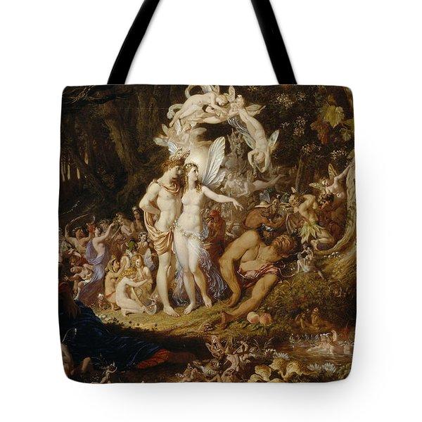The Reconciliation Of Oberon And Titania Tote Bag