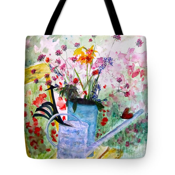 The Resting Place Tote Bag by Beth Saffer