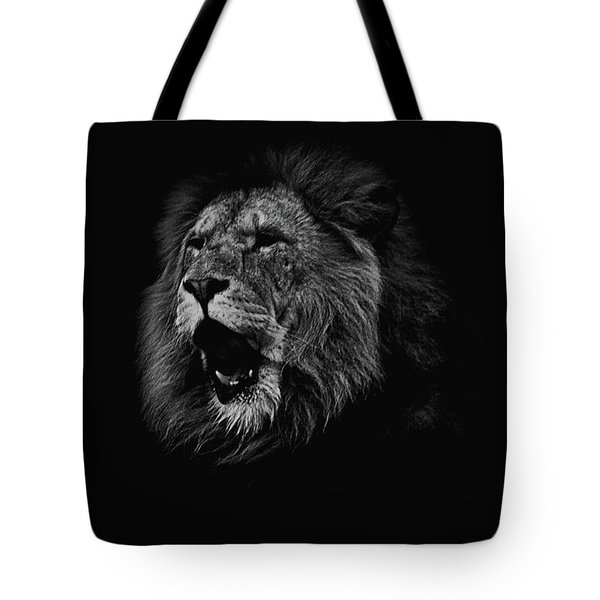 The Roaring Lion Tote Bag
