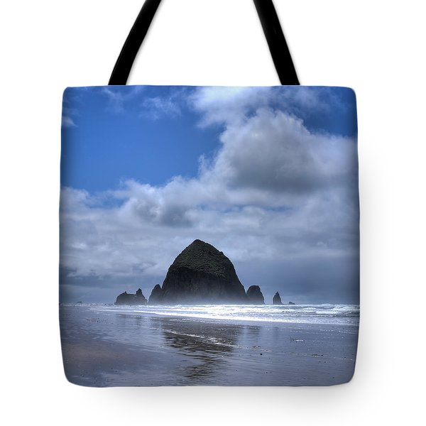 Tote Bag featuring the photograph The Rock by David Patterson