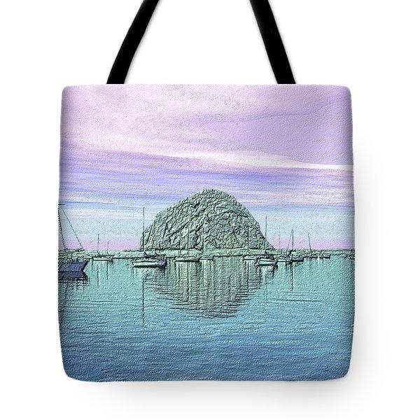 The Rock Tote Bag by Kurt Van Wagner