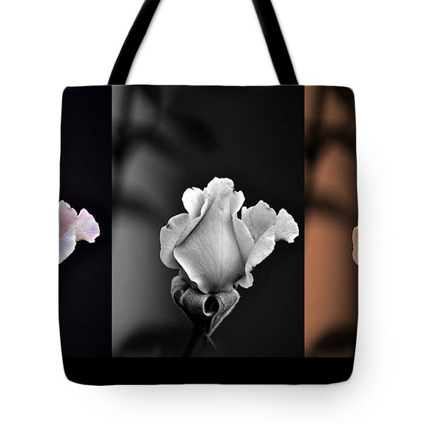 The Rose Tote Bag by Clayton Bruster