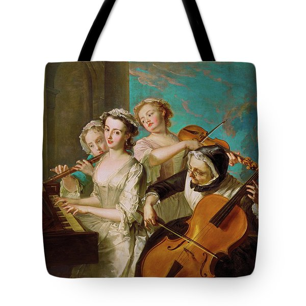 The Sense Of Hearing Tote Bag