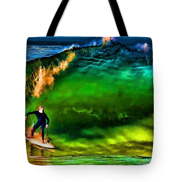 Tote Bag featuring the photograph The Shadow Within by John A Rodriguez