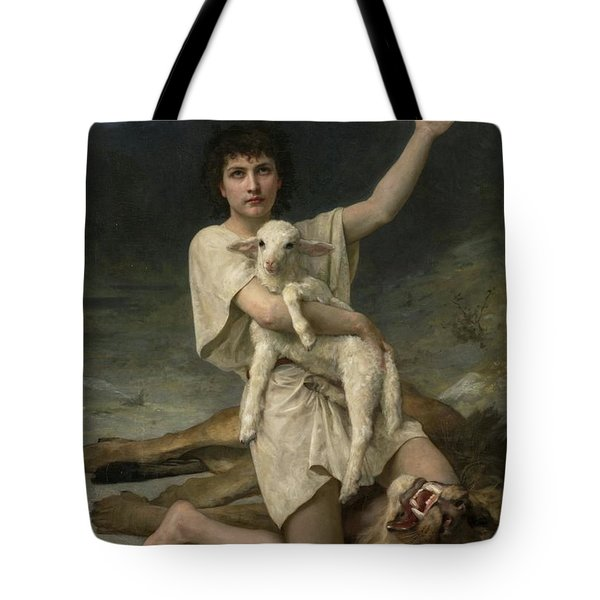 The Shepherd David Triumphant Tote Bag