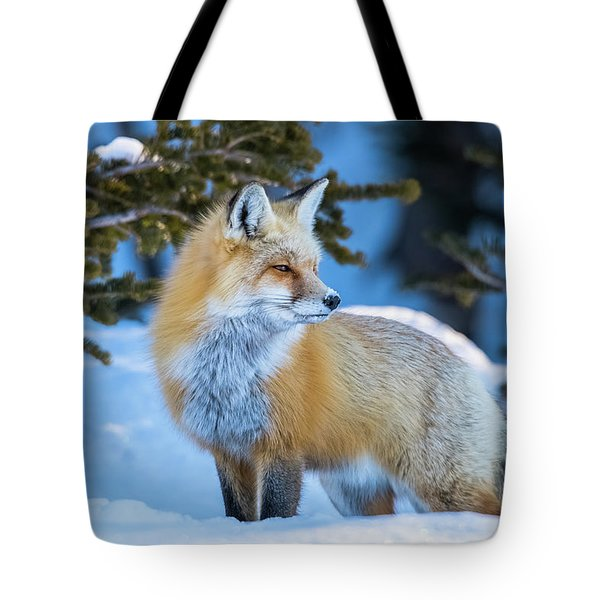 The Snow Beauty Tote Bag