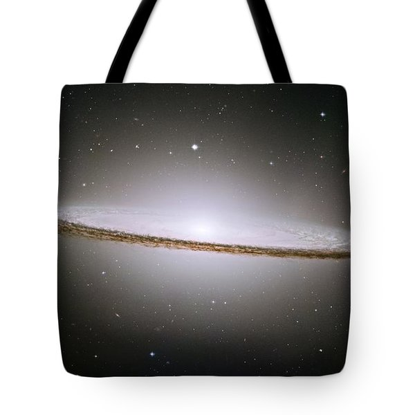 The Sombrero Galaxy Tote Bag