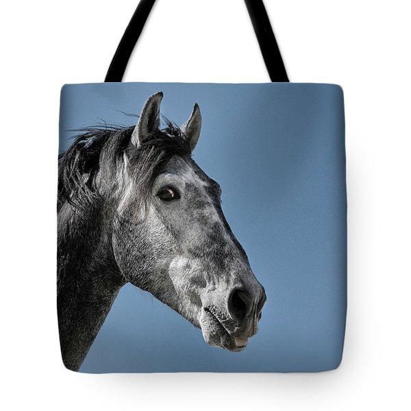 The Stallion Tote Bag by Michael Mogensen