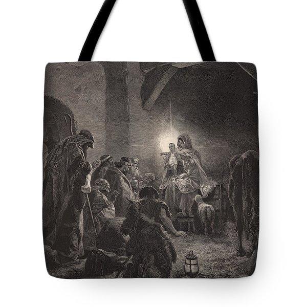 The Star Of Bethlehem Tote Bag