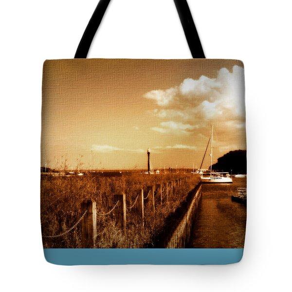 The Summer Wind V Tote Bag