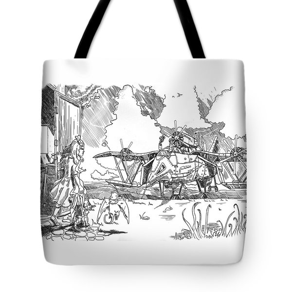 The Thingamajig Tote Bag by Reynold Jay