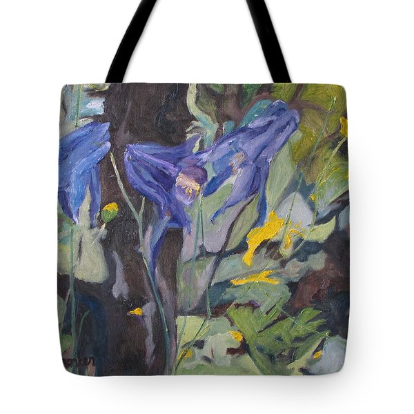 The Three Columbines  Tote Bag by Francois Fournier