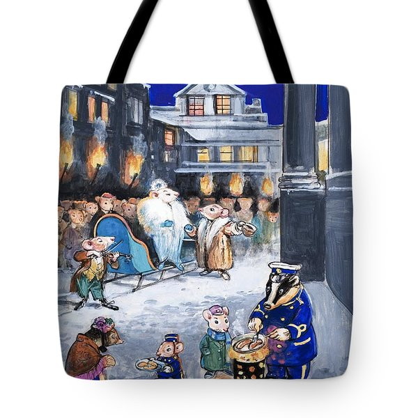 The Town Mouse And The Country Mouse Tote Bag by Philip Mendoza