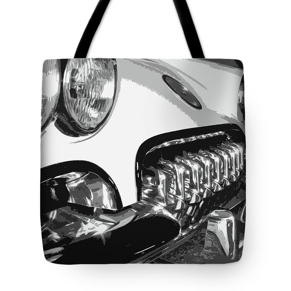 The Vette That Growled Tote Bag