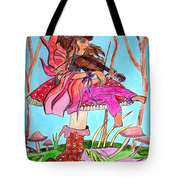 The Violinist Fairy Tote Bag