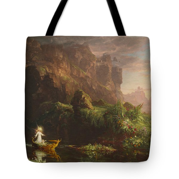 The Voyage Of Life, Childhood Tote Bag