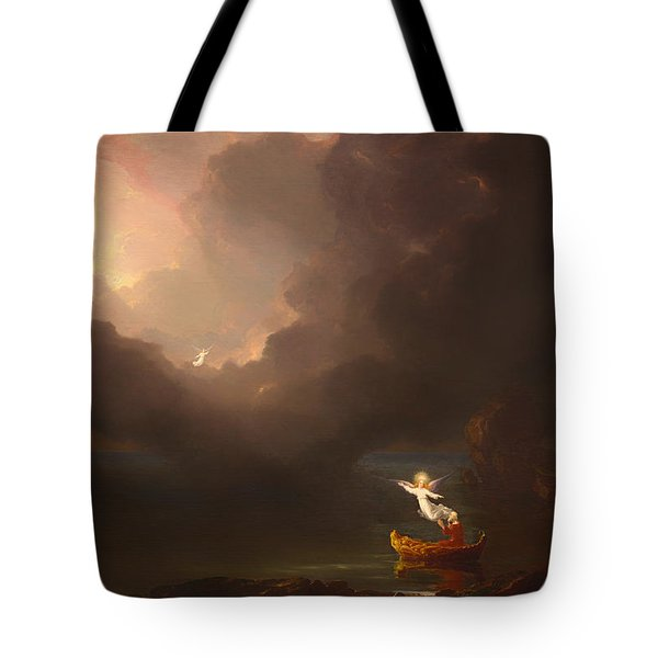 The Voyage Of Life - Old Age Tote Bag