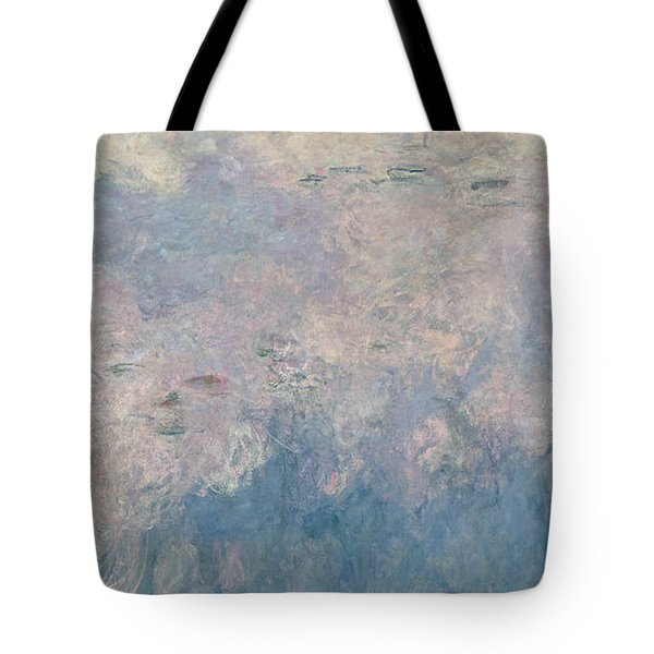 The Waterlilies  The Clouds Tote Bag