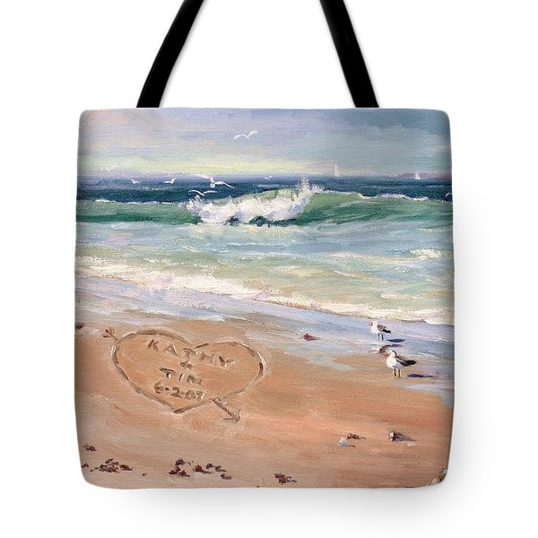 The Wedding Gift Tote Bag by Laura Lee Zanghetti