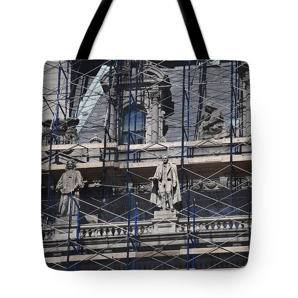 The Wiseguys Tote Bag by Rob Hans