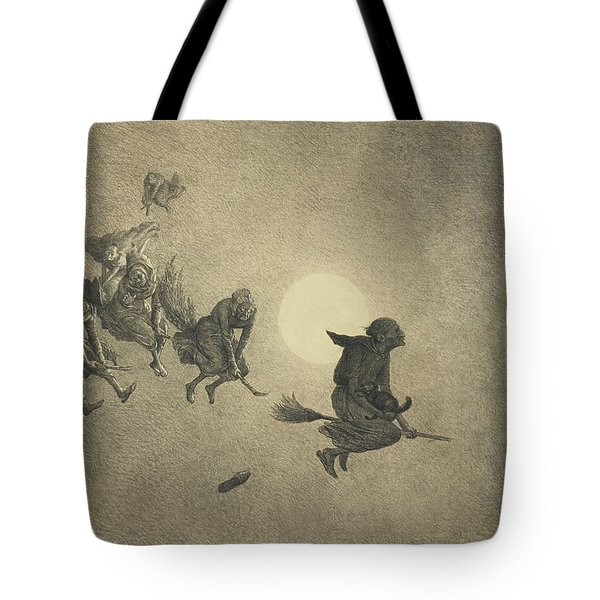 The Witches' Ride Tote Bag