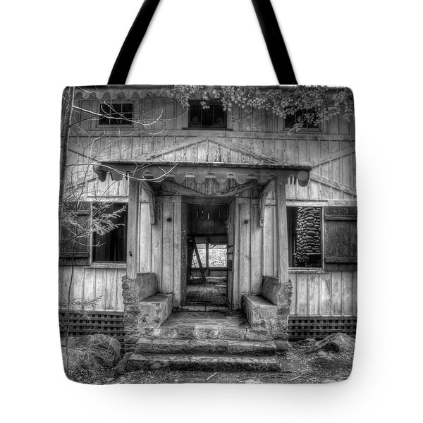 Tote Bag featuring the photograph This Old House by Mike Eingle
