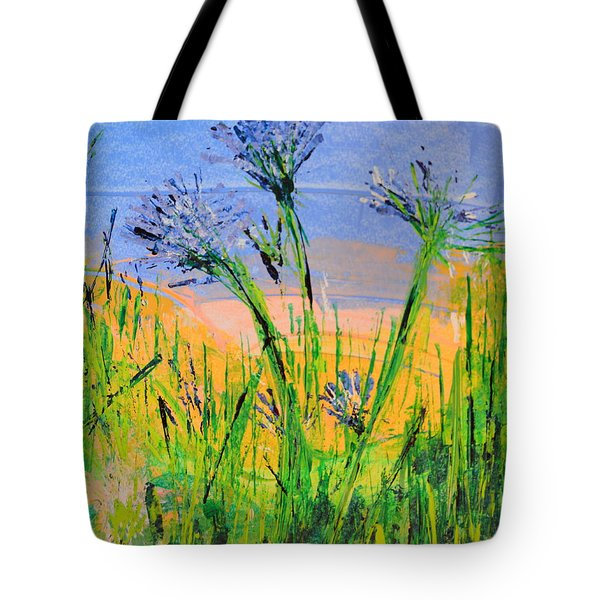 Thistles One Tote Bag