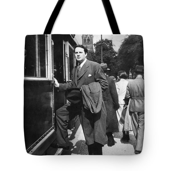 Thomas Wolfe (1900-1938) Tote Bag by Granger