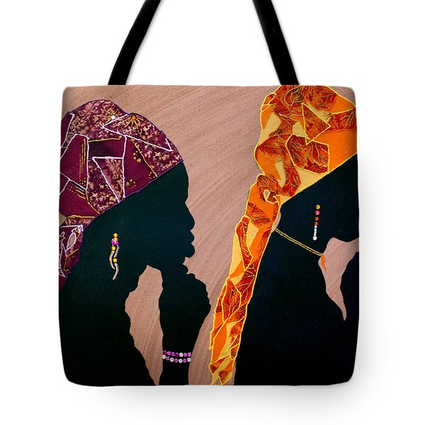 Thought And Prayer Tote Bag by Kayon Cox